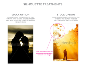 silhouette options